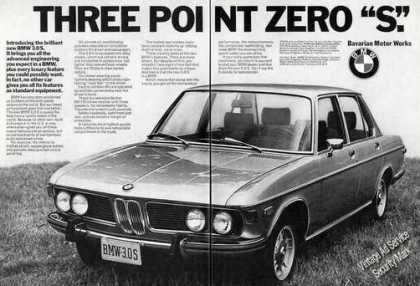 Bmw 3.0.s Large 2 Page (1973)