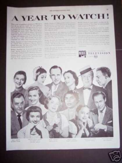 Original Nbc Tv Television New Shows Stars (1955)