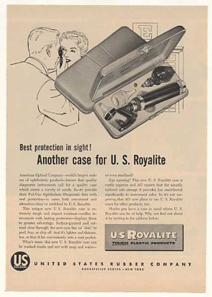 '54 AO Ful-Vue Ophthalmic Diagnostic Set US Royalite (1954)