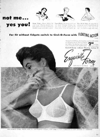 Exquisite Form Bras (1954)