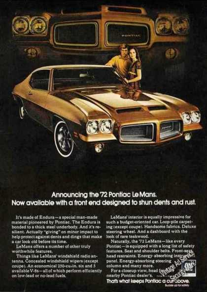 Pontiac Lemans Nice Glamour Shot Car (1972)