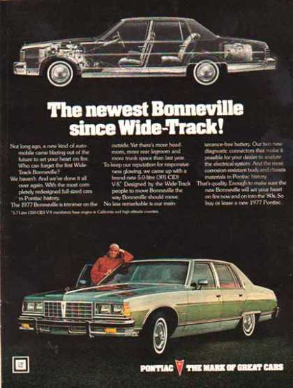 Pontiac Car – Bonneville – Green (1977)