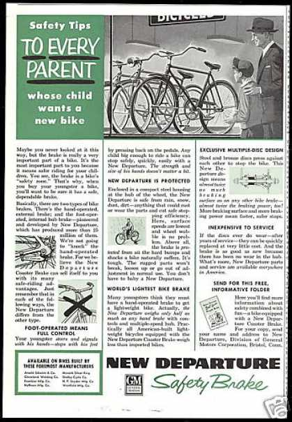 New Departure Safety Brake Bicycle Bike (1954)