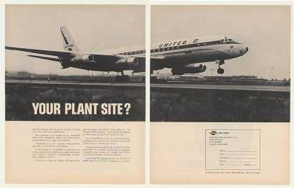 United Airlines Jet Cargo Freight Plant Site 2P (1963)
