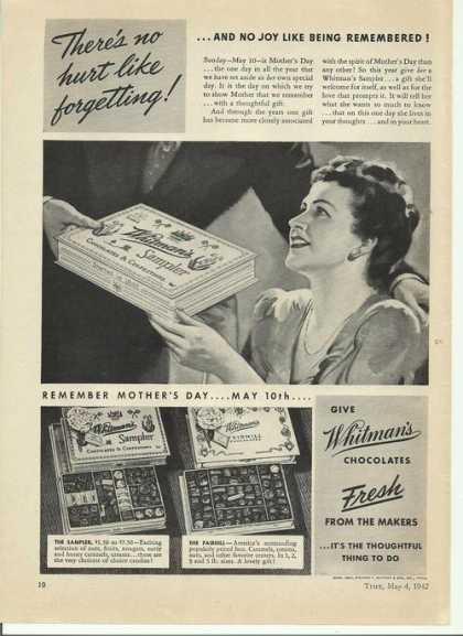 Whitmans Fresh Chocolates (1942)