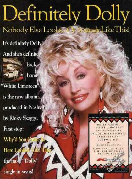 Dolly Parton Photo Impressive Country Music (1989)