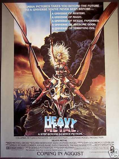 Columbia Pictures Movie Heavy Metal Promo (1981)