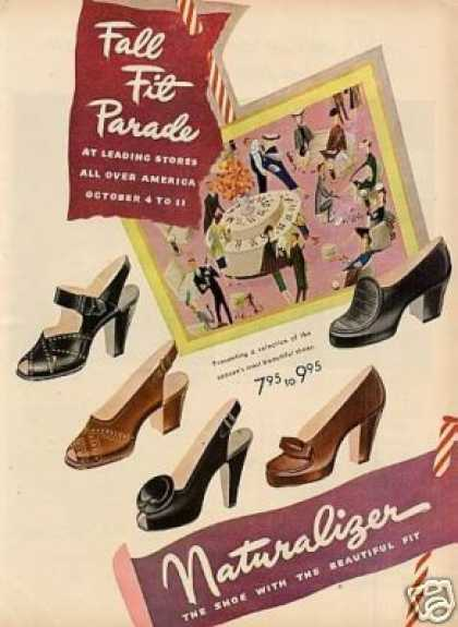 Naturalizer Ladies Shoes (1947)