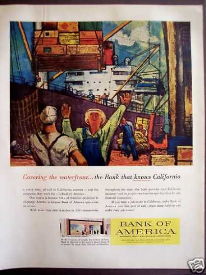 Bank of America the Bank That Knows California (1957)