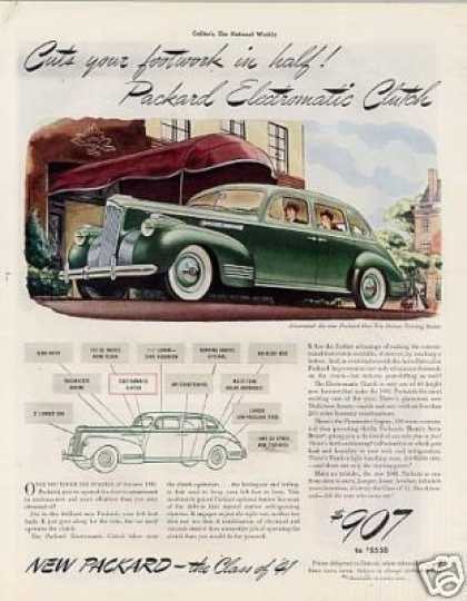 Packard One-ten Deluxe Touring Sedan (1941)