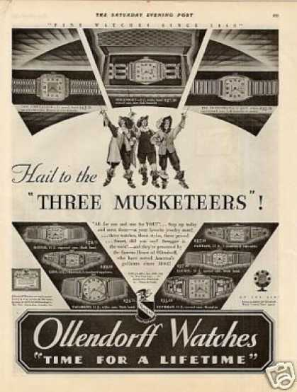 Ollendorff Watches (1930)