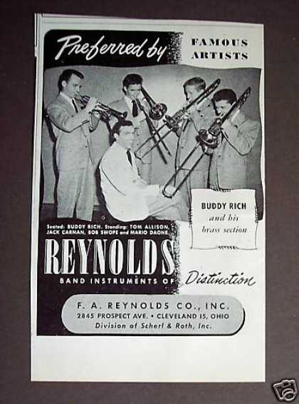 Reynolds Band Instruments Buddy Rich (1948)