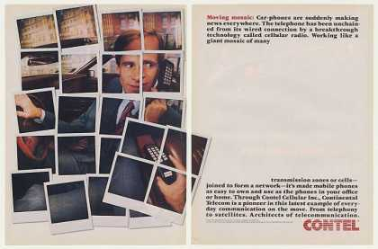 Contel Cellular Car Telephone (1985)