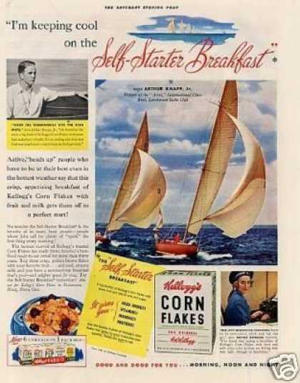 Kellogg's Corn Flakes Cereal (1941)
