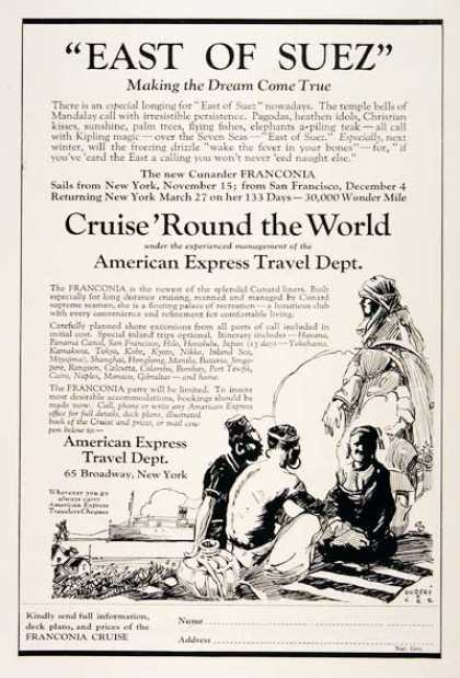 Cunard World Cruise (1923)