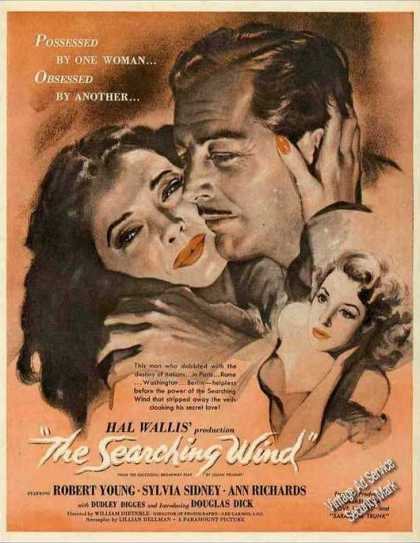 """The Searching Wind"" Nice Movie (1946)"