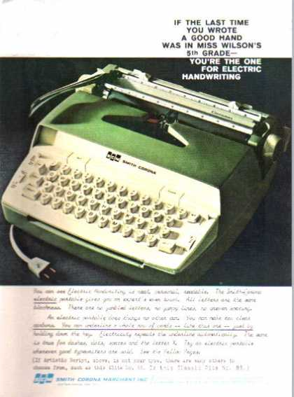 Smith Corona Coronet Typewriter (1962)