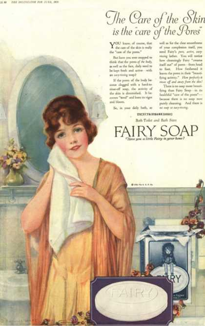 Fairy, Skin Care Pores Skincare, USA (1920)