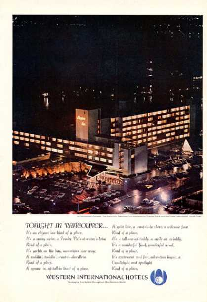 Western International Hotel Bayshore Inn (1964)