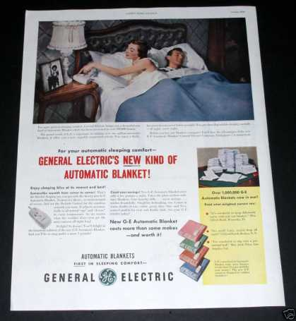 Ge Automatic Blanket, Worth It (1950)