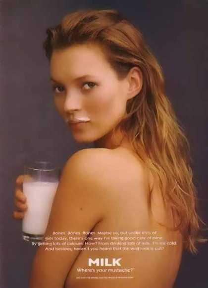 Kate Moss – GOT MILK (1996)