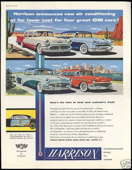 GM Cars Chevrolet Buick Olds Etc Harrison (1956)