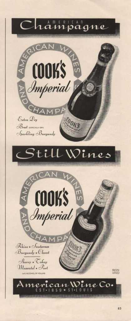 American Champagne Cooks Imperial (1941)