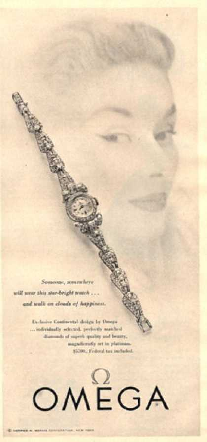 Omega Ladies Continental Watch (1951)