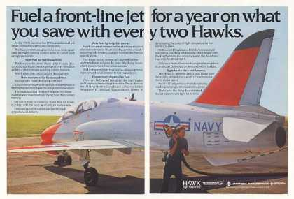 Navy McDonnell Douglas Hawk Aircraft Fuel Save (1982)