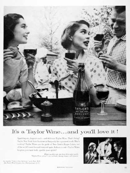 Taylor Wines – It's a Taylor Wine... and you'll love it (1957)