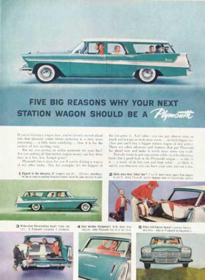 Plymouth Station Wagon (1958)