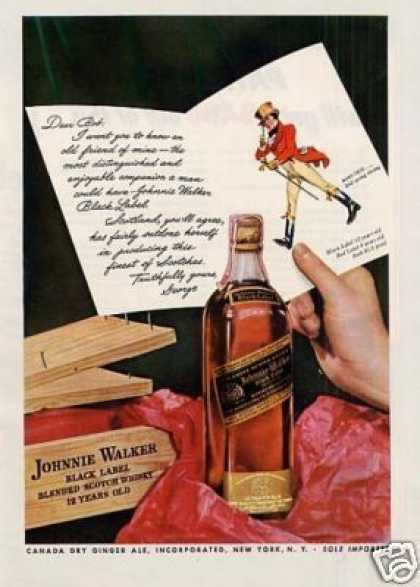 Johnnie Walker Scotch Whisky (1942)