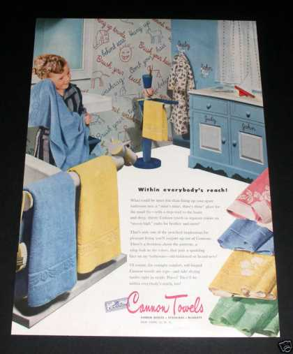 Cannon Towels, Within Reach (1946)