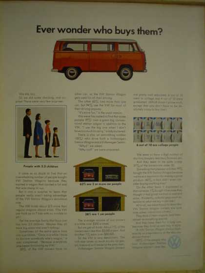 Volkswagen VW Ever wonder who buys them? (1969)