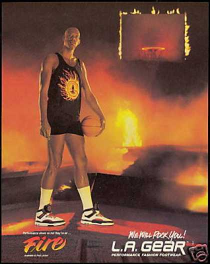 Kareem Abdul Jabbar LA Gear Shoe Basketball (1989)