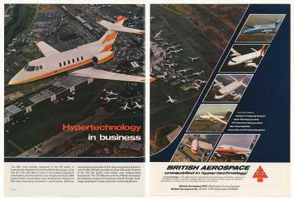 British Aerospace 800 Business Jet Photo 2-Page (1983)