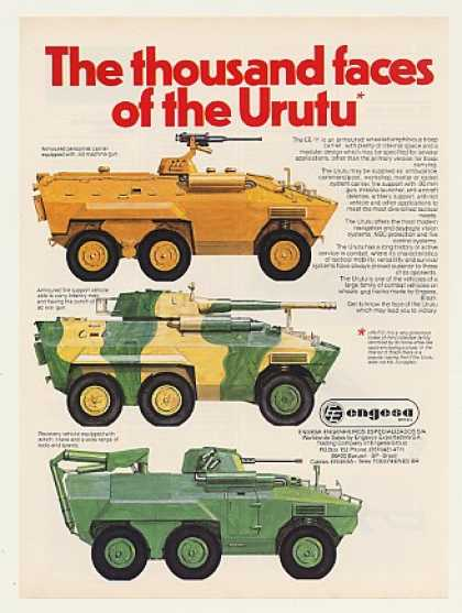 Engesa Urutu EE-11 Armoured Amphibious Vehicle (1986)