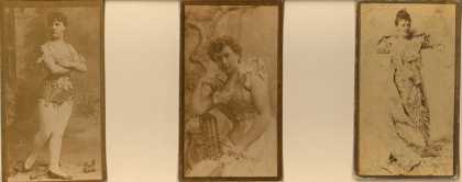 [W. Duke Sons & Co.]'s [Cigarettes] – Actresses – Large Cards – Image 2
