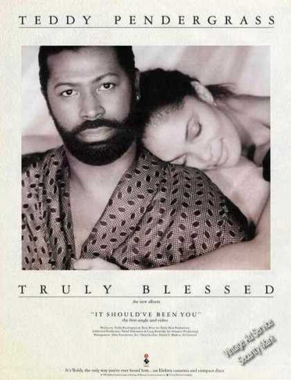 Teddy Pendergrass Photo Truly Blessed Album (1991)