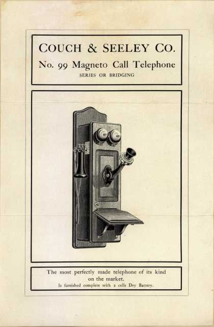 Couch & Seeley Co.'s Magneto Call Telephone – Couch & Seeley Co.