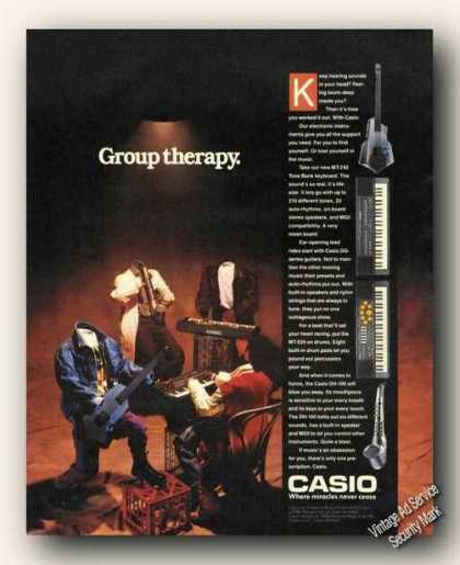 Casio Electronic Instruments Group Therapy (1988)