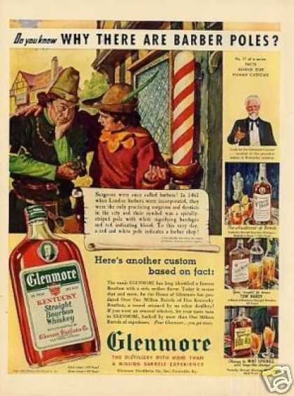 Glenmore Bourbon Whiskey (1939)