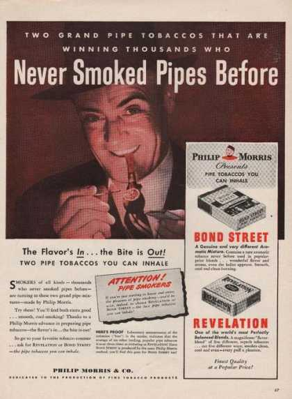 Philip Morris Bond Street & Revelation Pri (1946)