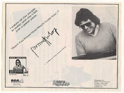 Ronnie Milsap Keyed Up RCA Records Photo (1983)