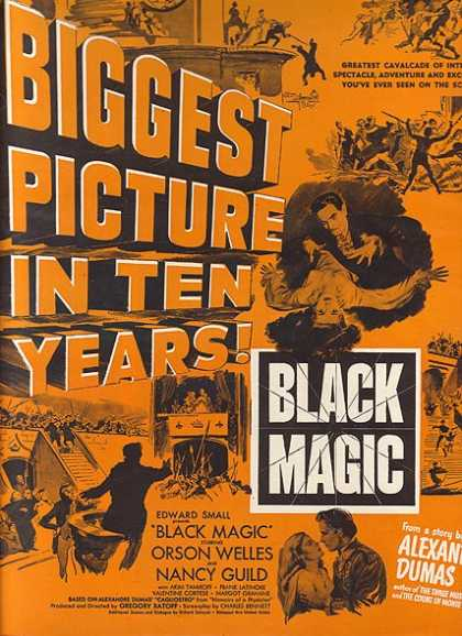 Black Magic (Orson Welles and Nancy Guild) (1949)