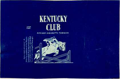 Kentucky Club's Tobacco for Pipe and Cigarettes – Kentucky Club