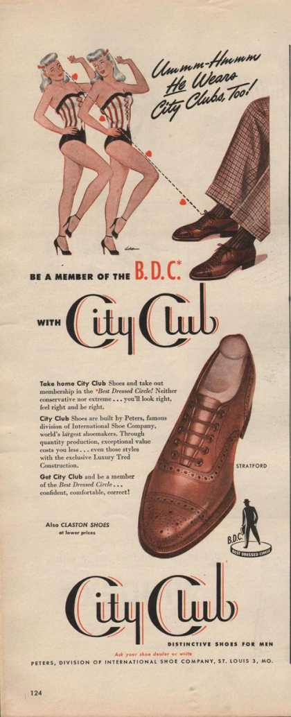 City Club Mens Dress Shoe (1942)