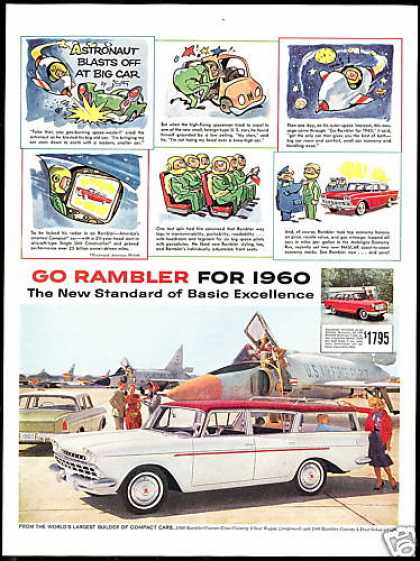 Rambler Station Wagon US Air Force FC-207 Jet (1960)
