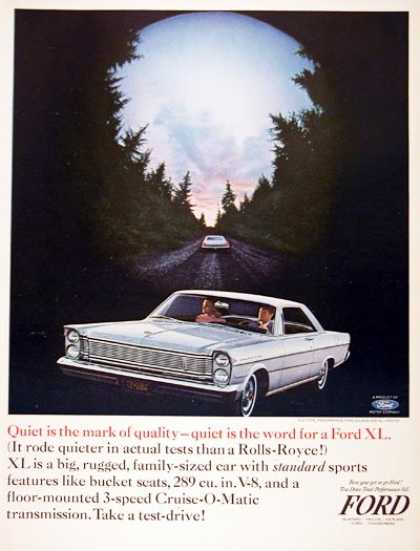 Ford Galaxie 500 XL Coupe #1 (1965)