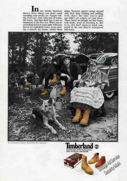 Timberland Boots Unusual Bootlegging (1977)